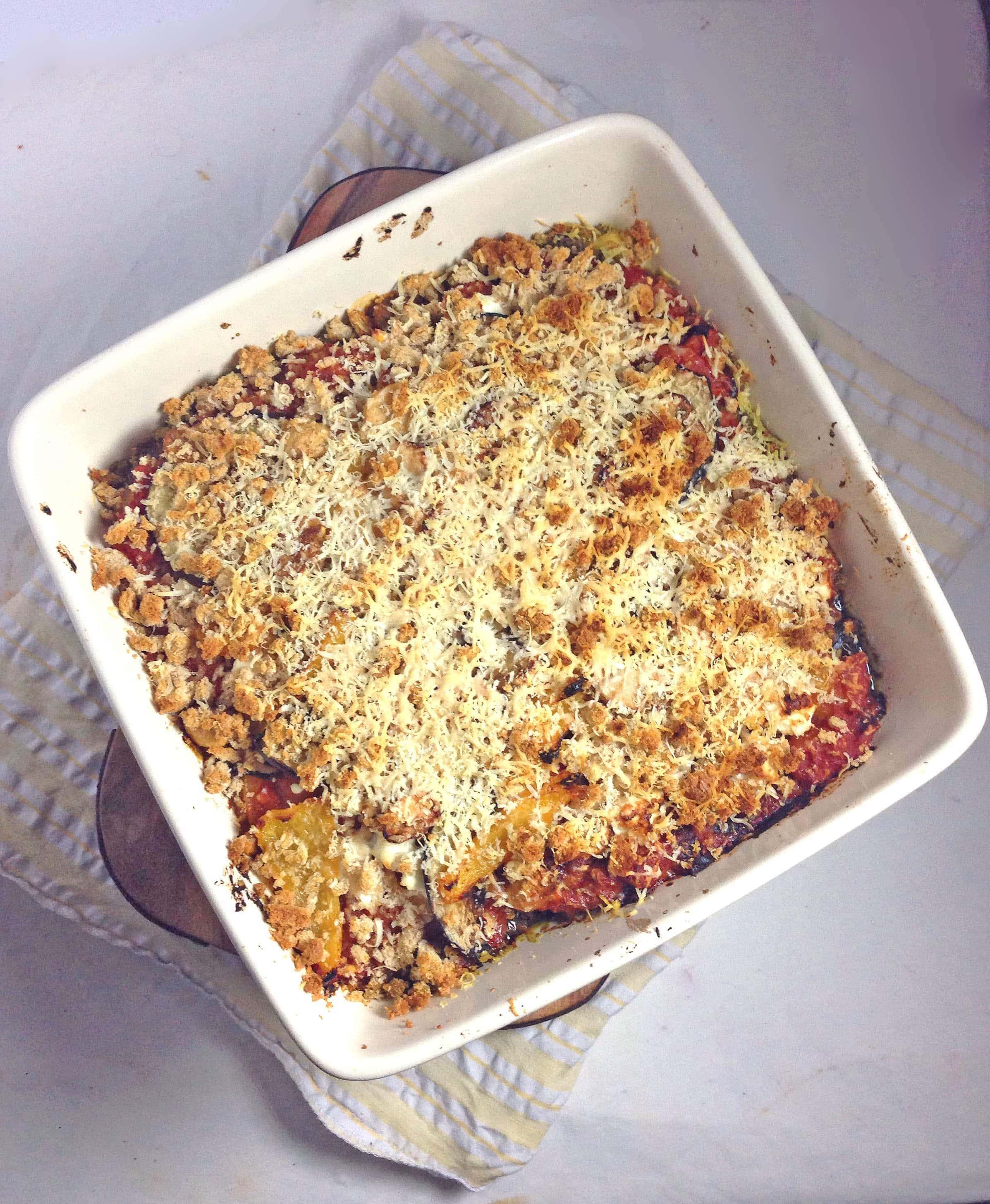 Polenta Bake