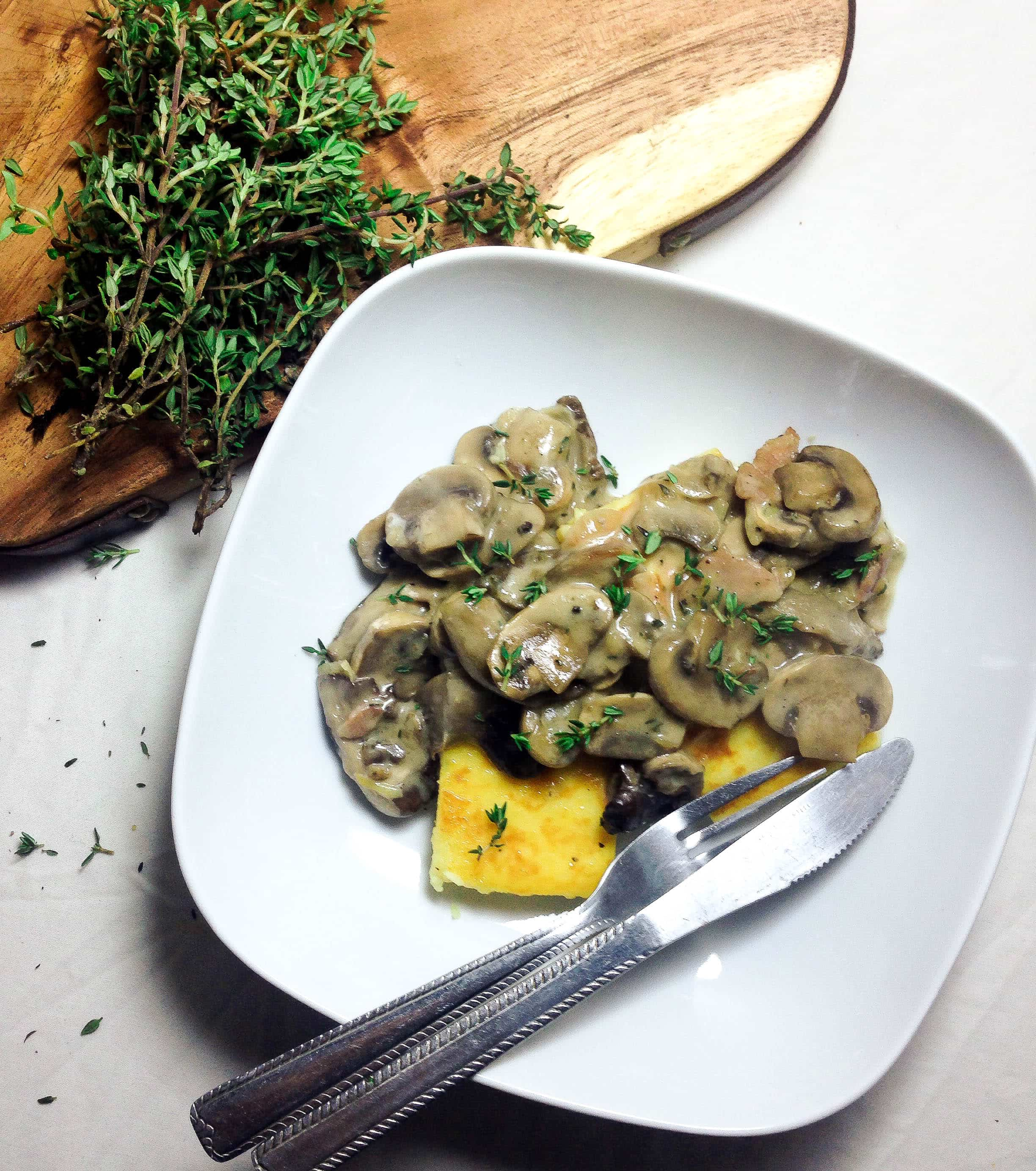 Wild Mushroom Ragu