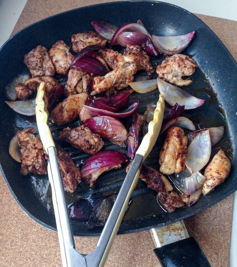 Griddled Chicken