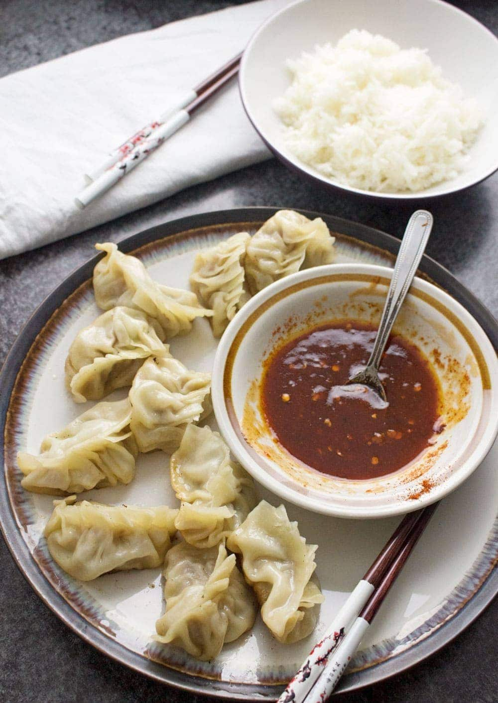 how to cook potstickers on the stove
