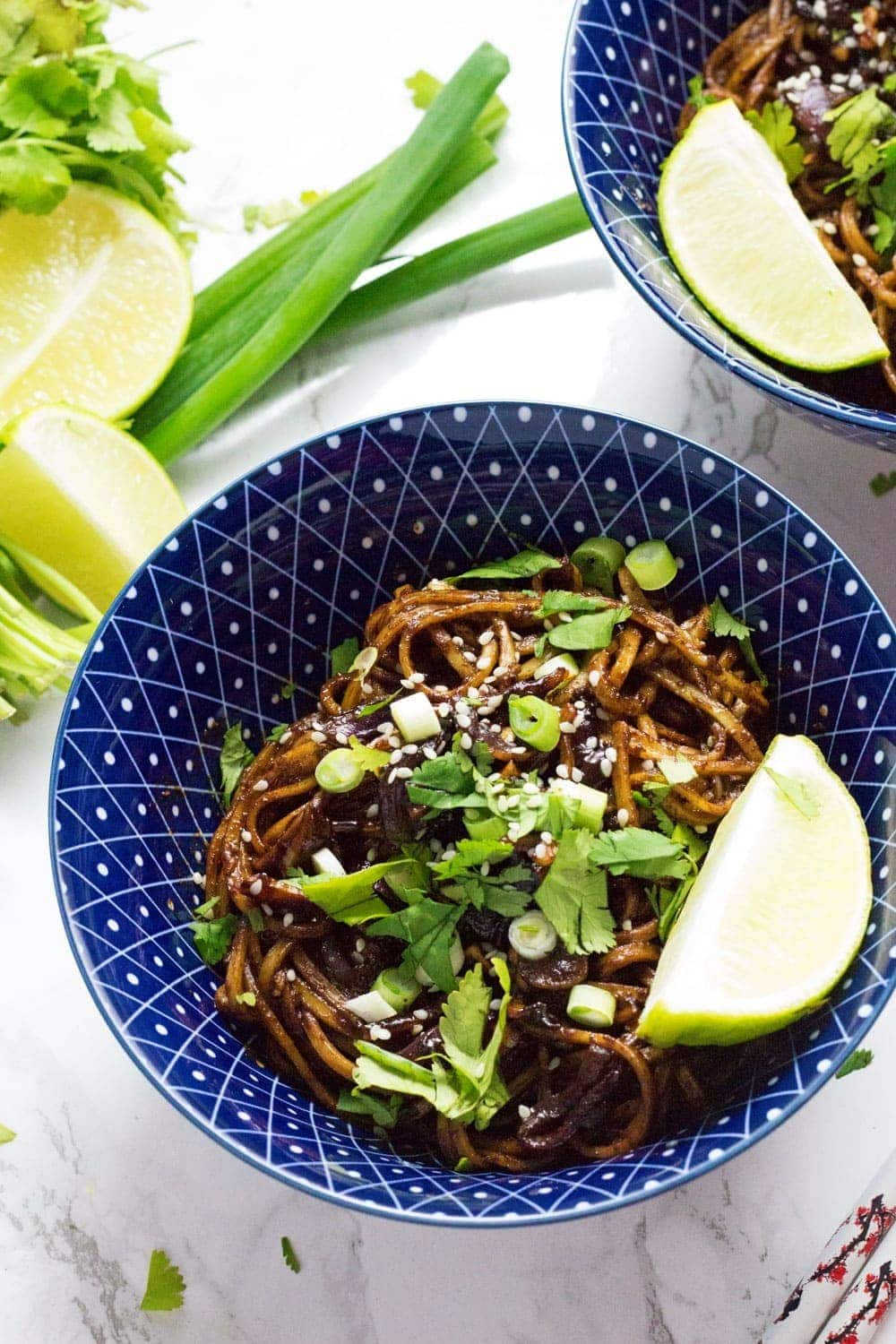 15 Minute Soy Peanut Noodles • The Cook Report