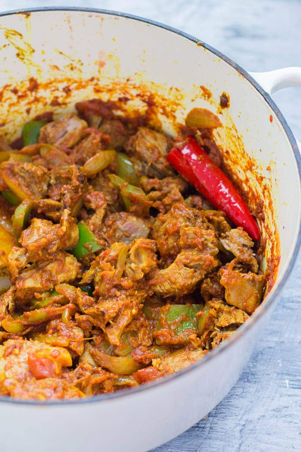 This turkey curry recipe is great for using up Thanksgiving or Christmas leftovers. It's healthy and quick to make so perfect for the busy holiday season!