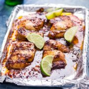 Quick & Easy Honey Chipotle Chicken. This honey chipotle chicken is the perfect combination of sweet and spicy. It's so easy to make and is super versatile, serve it in wraps, sandwiches or with salad...the possibilities are endless! #honey #chipotle #chicken #recipe