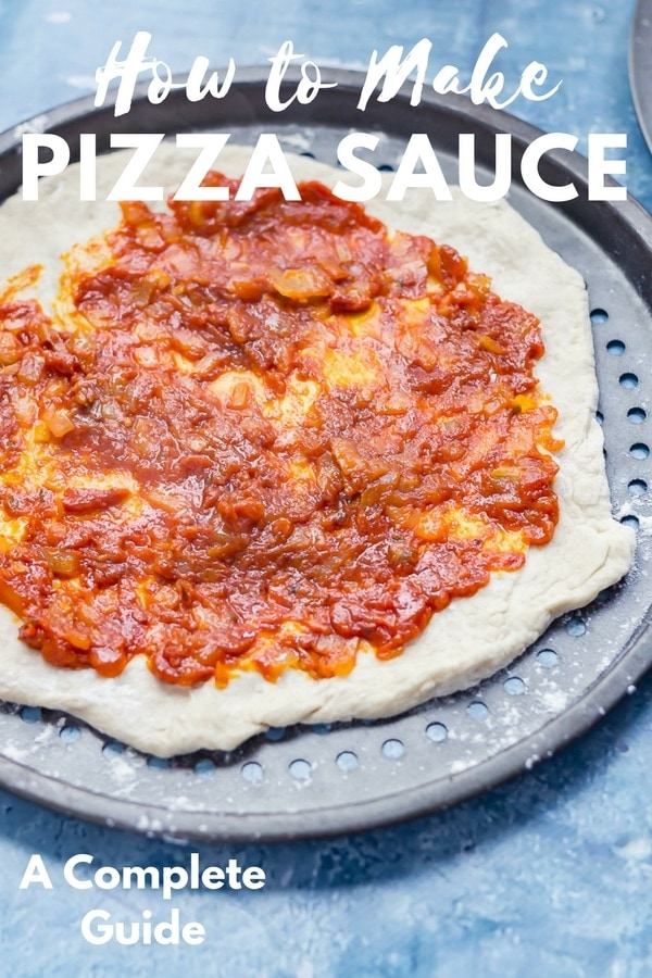 This is the complete guide to how to make pizza sauce. Pizza is nothing without the perfect sauce and I've got the recipe for how to make pizza sauce which has amazing flavour and keeps your pizza base perfectly crisp. #pizza #pizzasauce #pizzasaucerecipe #thecookreport