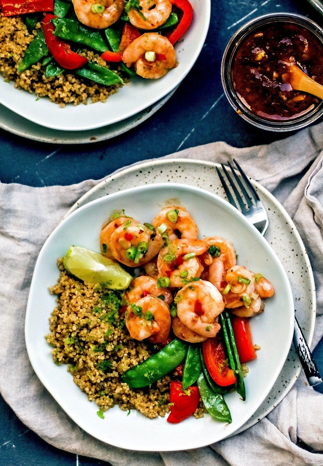 20 Minute Dinners: Spicy Thai Sweet Chilli Shrimp