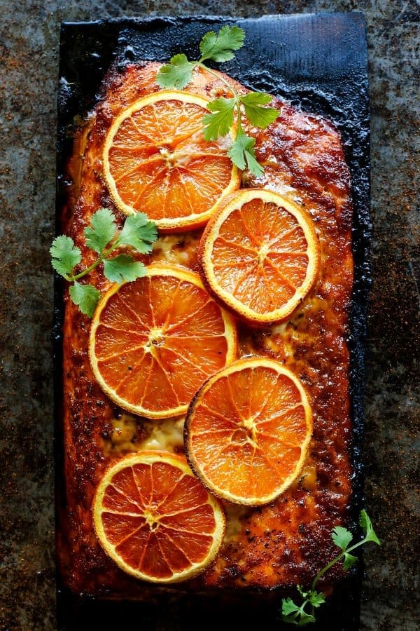 Chipotle orange salmon