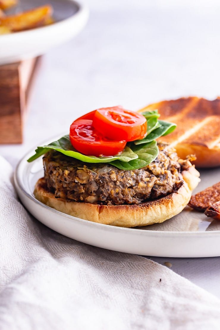 Mushroom Burger With Pearl Barley The Cook Report
