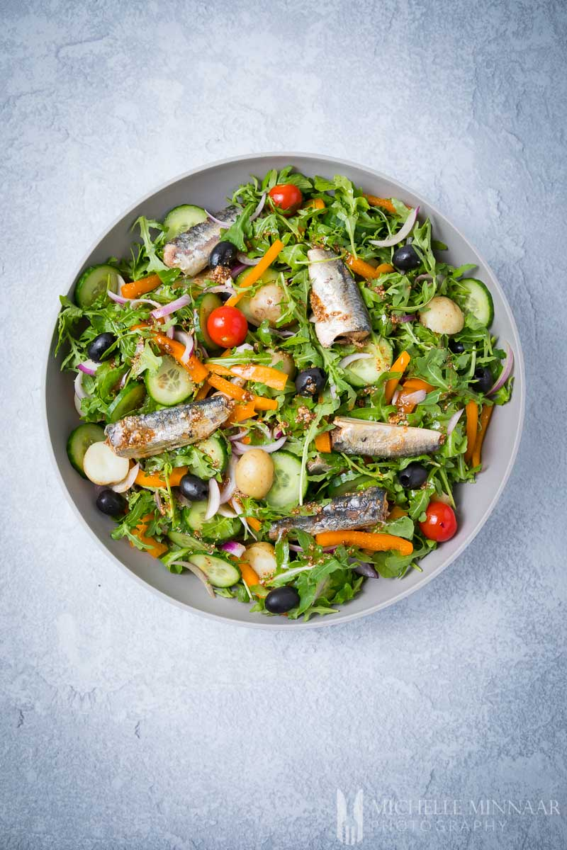 Sardine salad