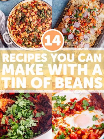 Pinterest image for bean recipes