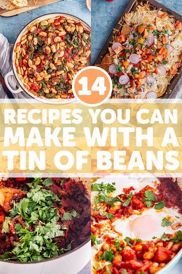 Pinterest image for bean recipes
