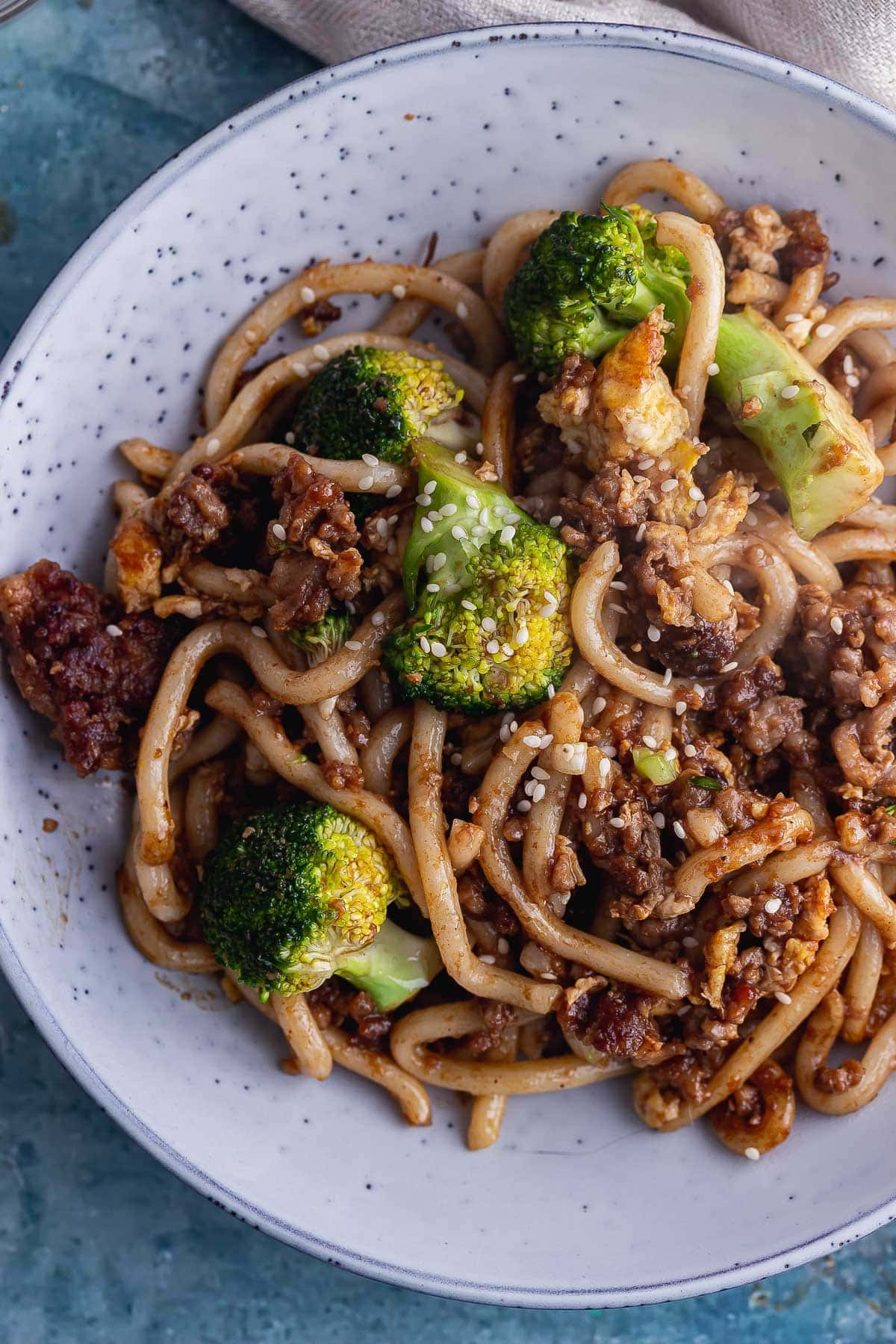 egg fried noodles with pork • the cook report